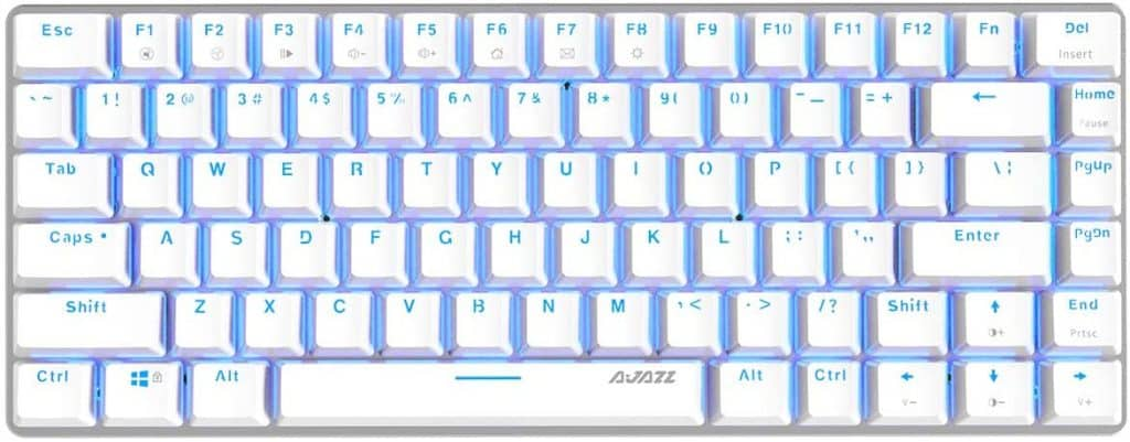 Ajazz AK33 Geek Mechanical Keyboard