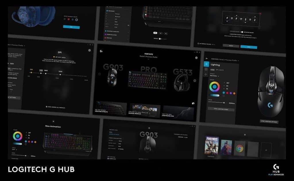 Logitech G Hub Interface