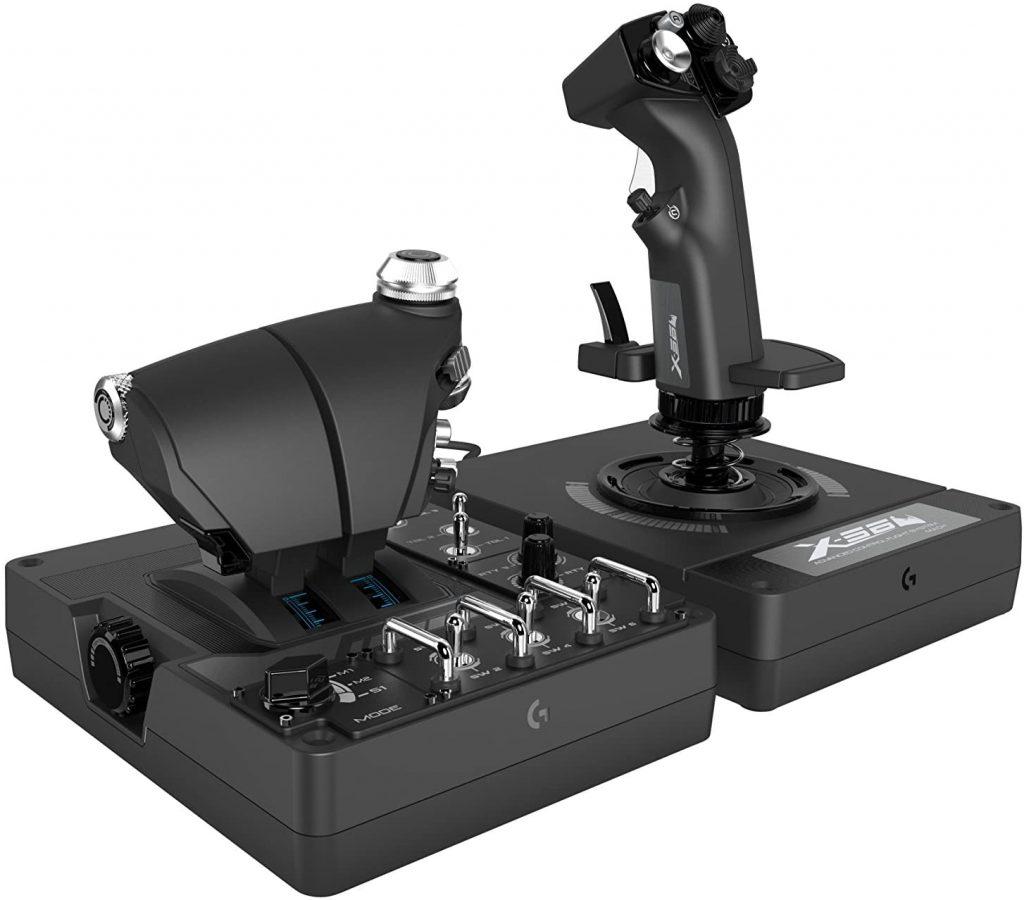 Logitech G X56 H.O.T.A.S. RGB Throttle and Stick