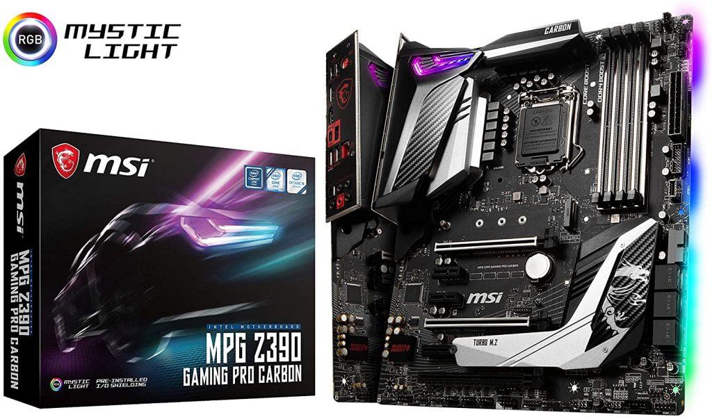 MSI MPG Z390 Gaming PRO Carbon