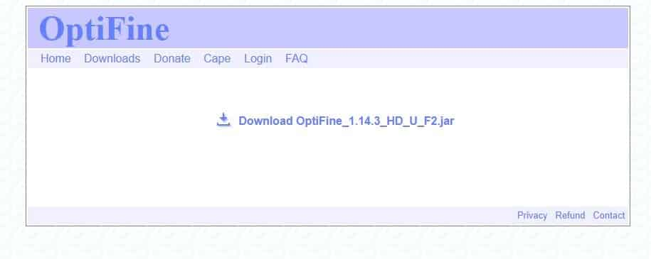 optifine file download