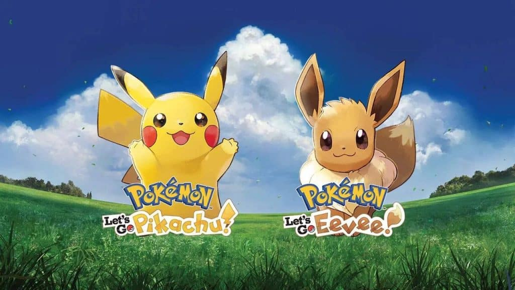Pokémon Let's Go, Pikachu! and Let's Go Eevee!