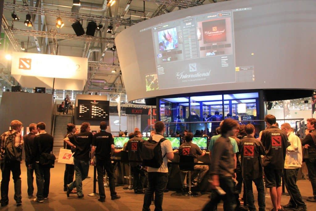 The International Dota 2 video game tournament