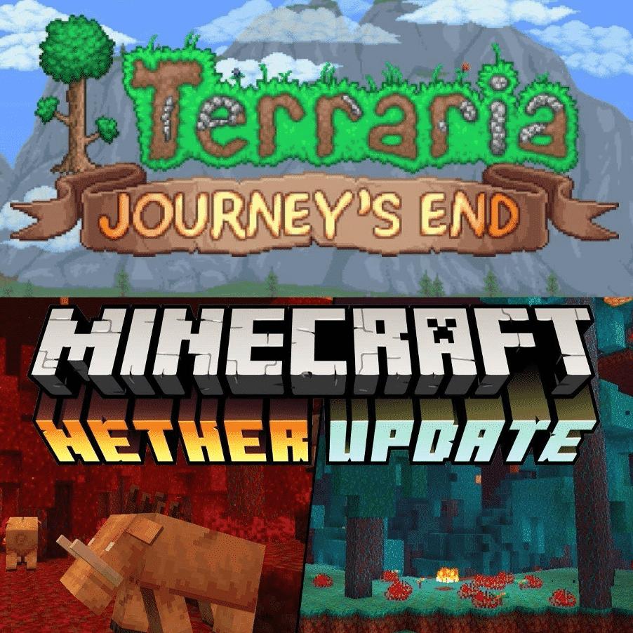 Updates - Terraria vs Minecraft