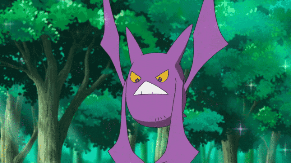 Crobat purple bat like pokemon