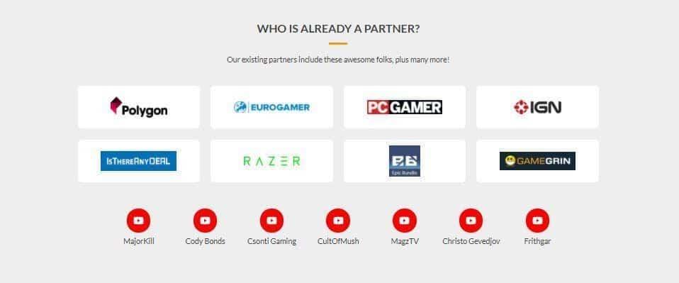 Fanatical Partner