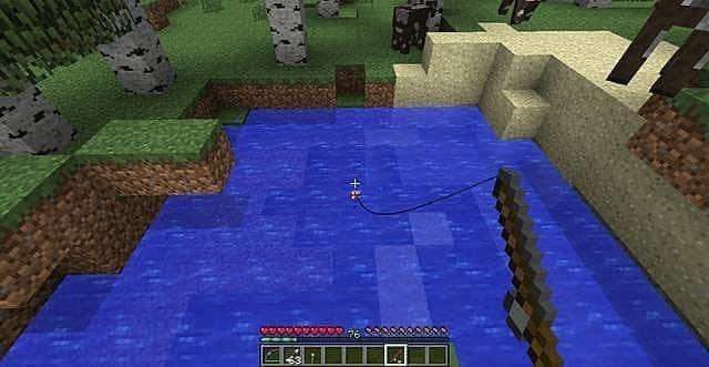 Find Saddle while Fishing