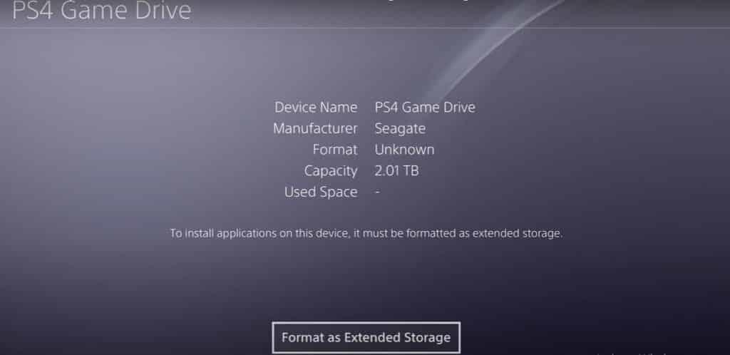 Format an External Hard Drive for PS4