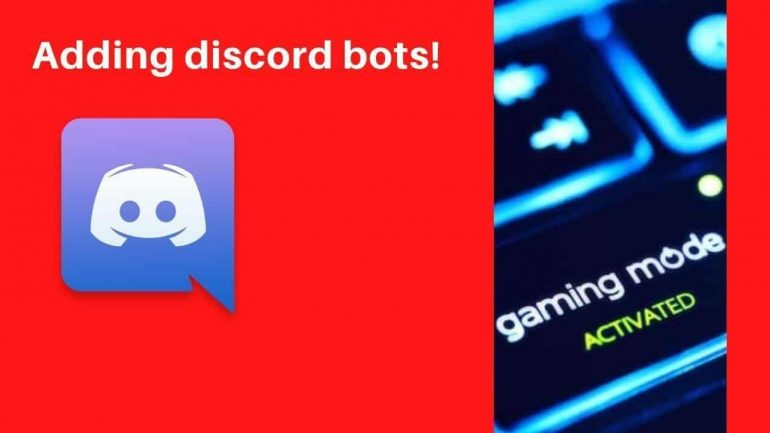 Add Bots on Discord