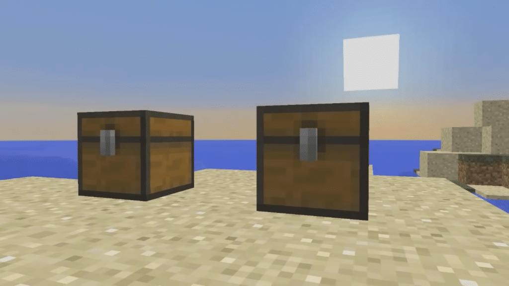 Minercraft April fool prank using locked chests