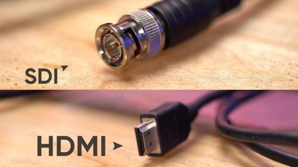SDI and HDMI