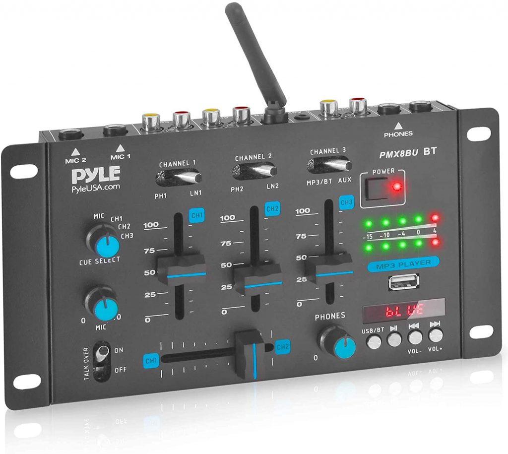 Wireless DJ Audio Mixer