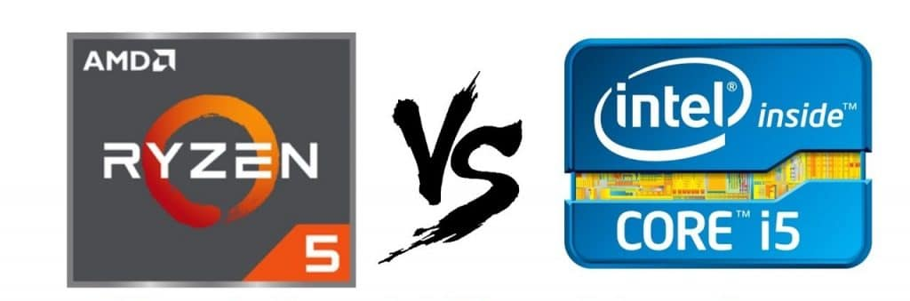 intel core i5 and amd ryzen 5