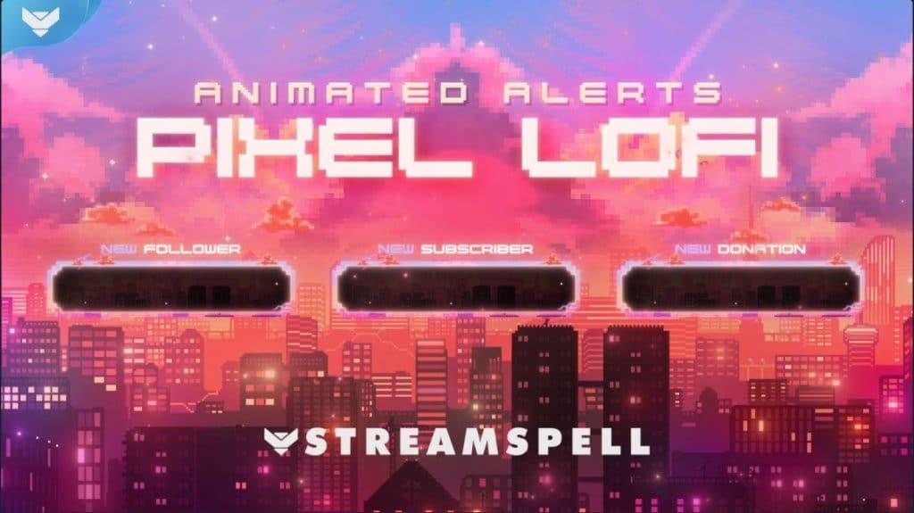 Pixel Lo-Fi by Streamlabs