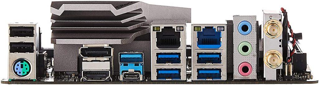 ASRock Z490M Ports