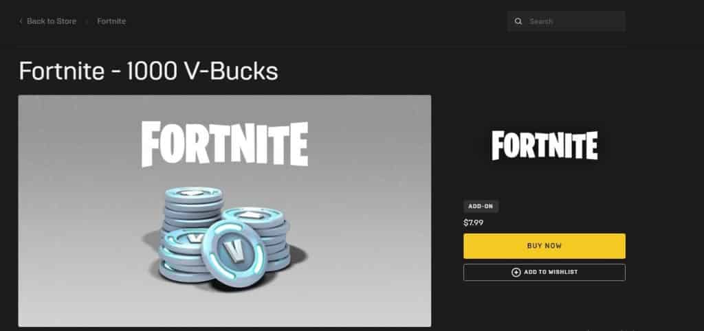 Buy V-Bucks From the web