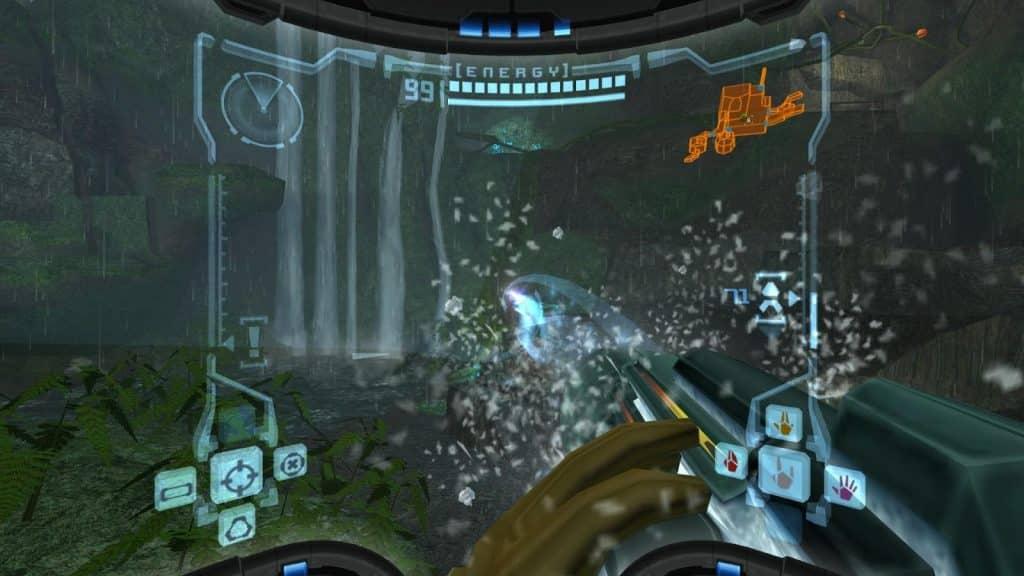 Metroid Prime gameplay mechanics