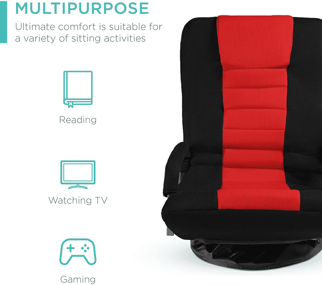 Multipurpose 360-Degree Swivel Gaming Floor Chair