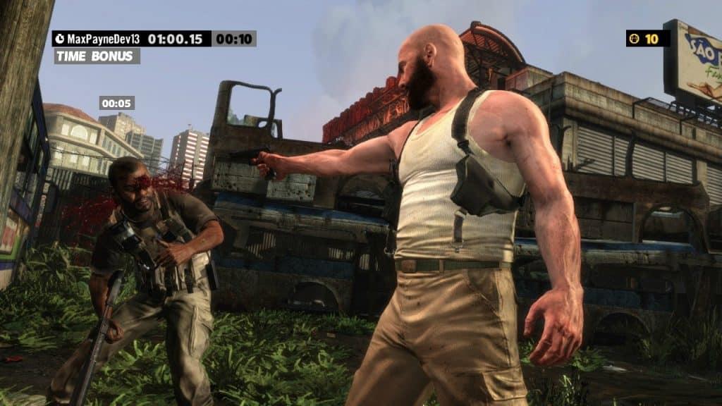 Max Payne 3 Gameplay
