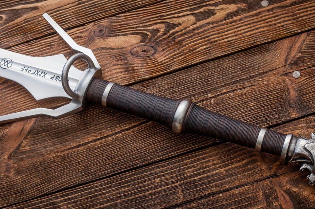 Ursine Silver Sword